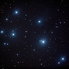 Messier 45 - Pleiades Seven Sisters Subaru Matariki - 13/10/2013 (Processed stack)