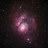 Messier M8 - NGC6523 & NGC6530 - Lagoon Nebula and Cluster