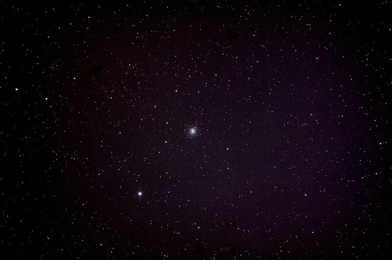 Messier M68  - NGC4590 Globular Cluster in Hydra - 3/5/2013 (Processed stack)