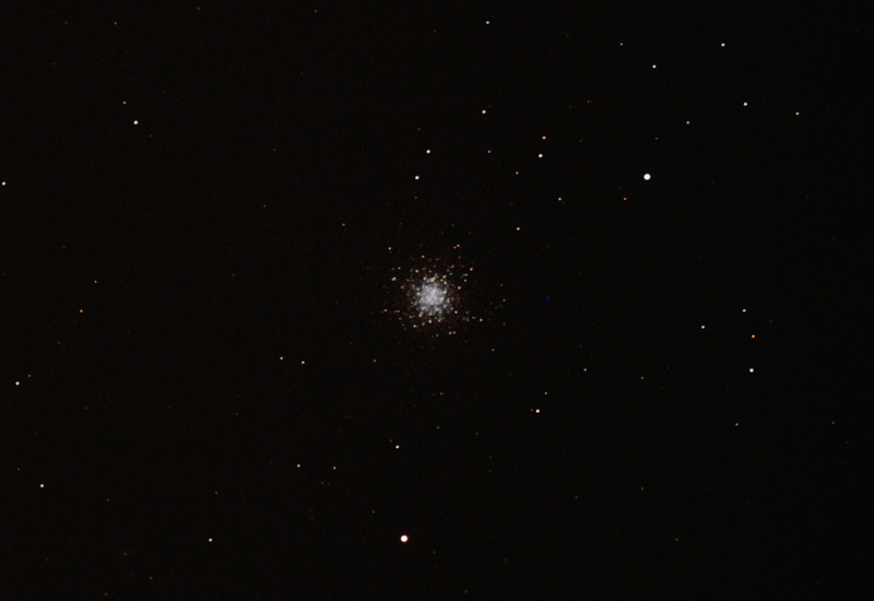 Messier M13 - NGC6205 Hercules Globular Cluster - 23/5/2012 (Processed cropped stack)