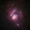 Messier M8 - NGC6523 & NGC6530 - Lagoon Nebula and Cluster - 5/10/2013 (Processed cropped stack)