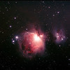 Messier M42 - NGC1976 - Orion Nebula & NGC1977 Running Man Nebula - AP modified 70D First Light - 1/1/2014 (Processed stack)