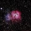 Messier M20 - NGC6514 - Gum 76 - Trifid Nebula - 11/5/2013 (Processed stack)
