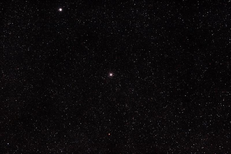 Messier M28 - NGC6626 - Globular Cluster in Sagittarius - 22/6/2012 (Processed stack)