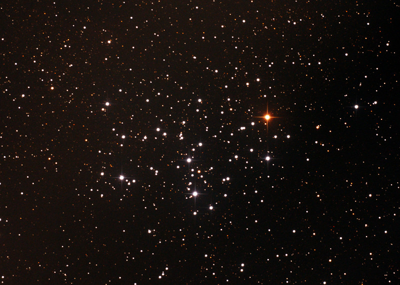 Messier M6 - NGC6405 - Butterfly Cluster in Scorpius - 24/6/2015 (Processed cropped stack)
