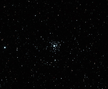 Caldwell 64 - NGC2362 Tau Canis Majoris Cluster - 29/10/2011 (Processed stack)