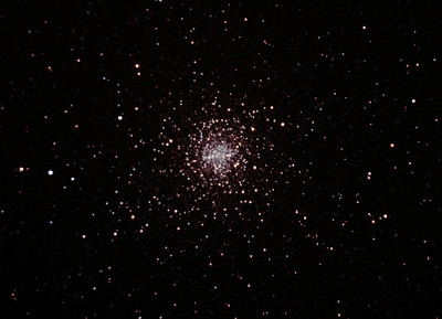 Messier M4 - NGC6121 Globular Cluster 23/04/2012 (Processed cropped stack)