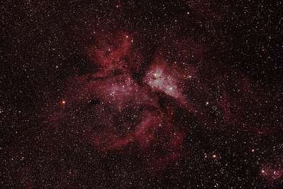 Caldwell 92 - NGC3372 - Eta Carinae Nebula - Dark Sky site near Wagin - 4/3/2011 (Processed stack)