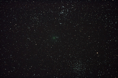Comet 103P/Hartley 2 near M46 & M47 - 28/11/2010 (Re-processed Stack)