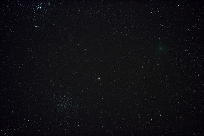 Comet 103P/Hartley 2 near M46 & M47 - 3/12/2010 (Processed stack)