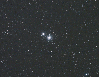 Messier M3 - NGC5272 - Globular Cluster - 6/6/2011 (Processed cropped stack)