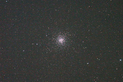 Messier M4 NGC6121 Globular Cluster in Scorpio (also NGC6144 Globular Cluster) 30/3/2011 (Processed cropped stack)