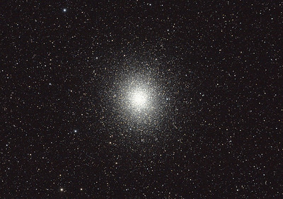 Caldwell 80 - NGC5139 - Omega Centauri Globular Cluster - 26/8/2011 - Dark Sky site near Wagin (Processed cropped stack)