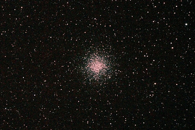 Messier M55 - NGC6809 - Globular Cluster - 29/5/2011 (Reprocessed cropped stack)