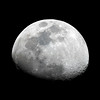 Waxing Gibbous Moon - 15/9/2013 (Processed single image)
