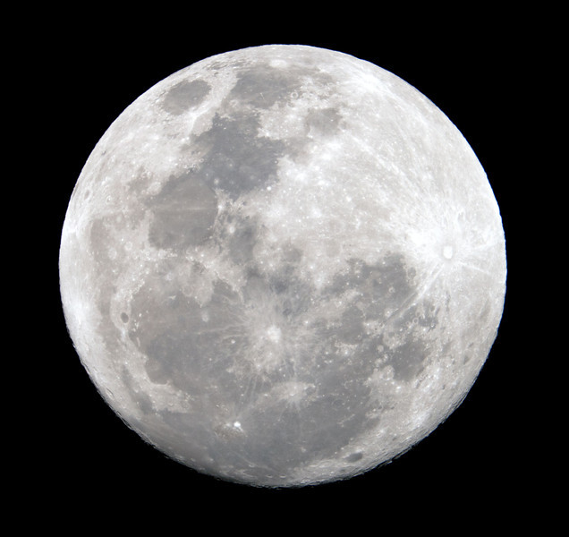 Near Full Moon - 17/2/2011 (Processed - PowerMate testing)