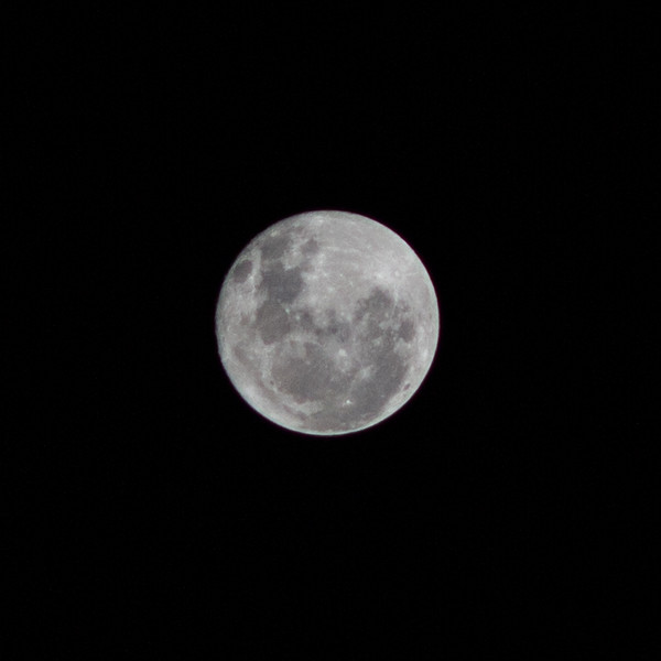Moon - 14/10/2019 (Singe cropped image)