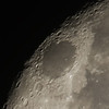 Waning Gibbous Moon - 21/10/2013 (Processed stack)