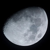 Waxing Gibbous Moon - 14/10/2013 (Processed cropped image)