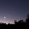 Jupiter, Moon, Venus (L-R) at Perth Observatory 26/03/2012