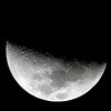 Moon near First Quarter 29/2/2012