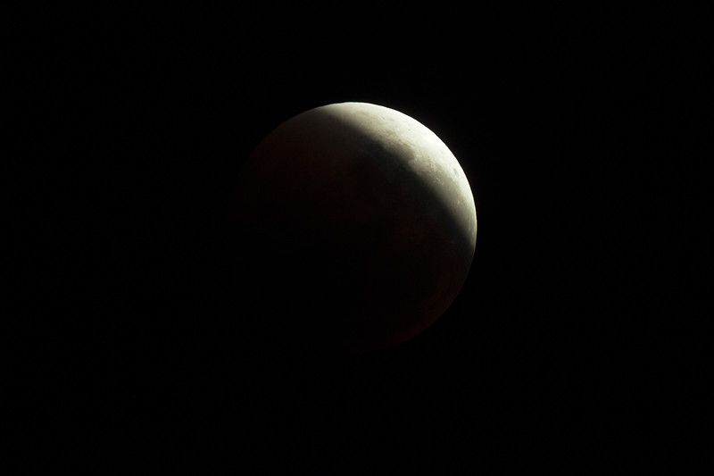 Super Blue Blood Moon - In Umbral shadow egress - 31/1/2018