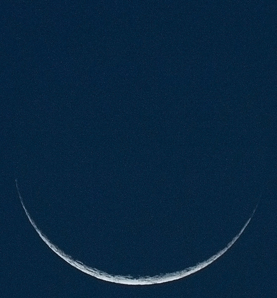 New Moon (2 days old) - 7/12/2010