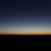 The Moon and Venus in pre-dawn