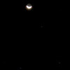Conjunction of the Moon, Mars, Saturn and Spica - 22/8/2012 (Processed single image)