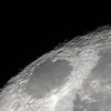Moon - Waning Gibbous - centred on Mare Crisium - 26/4/2013 (Processed stack)