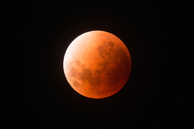 Super Blue Blood Moon - Umbral (full eclipse)- 31/1/2018