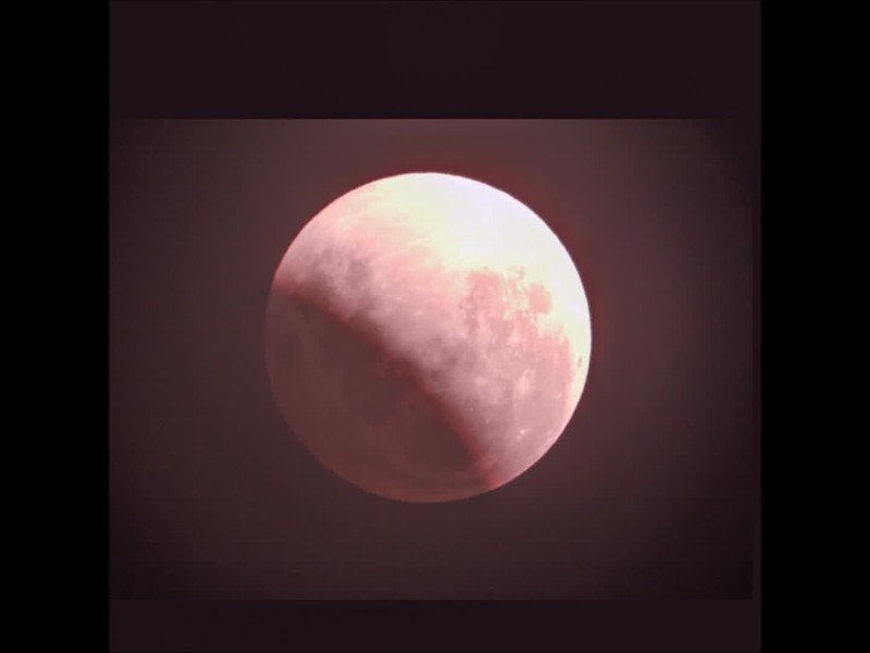 Partial Lunar Eclipse - 16/07/2019 (Processed single image sequence )