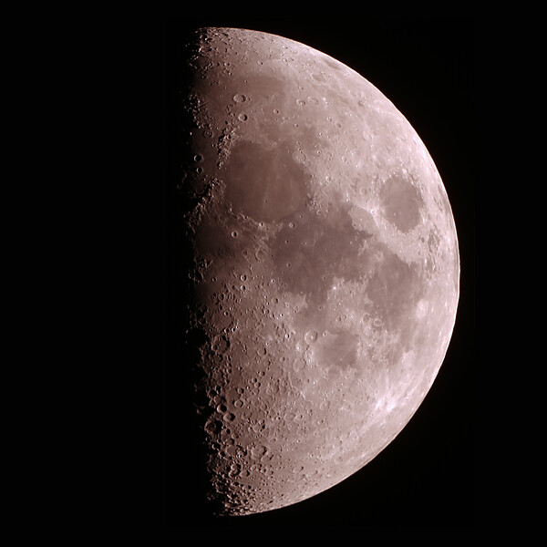 First Quarter Moon - 22/12/2020 (Processed Stack)