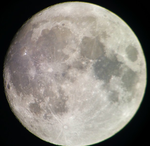 Moon - 23/10/2018 (Processed cropped single Image)
