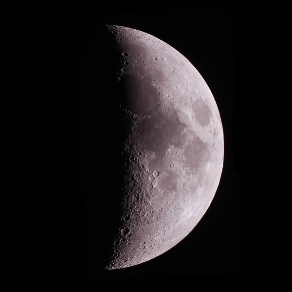 Near First Quarter Moon - 23/6/2015 (Processed stack)