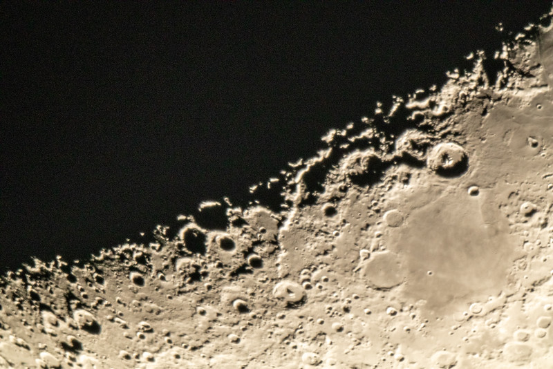 Lunar Astrophotography night at Perth Observatory - 22/10/2020 (Single M50 image)
