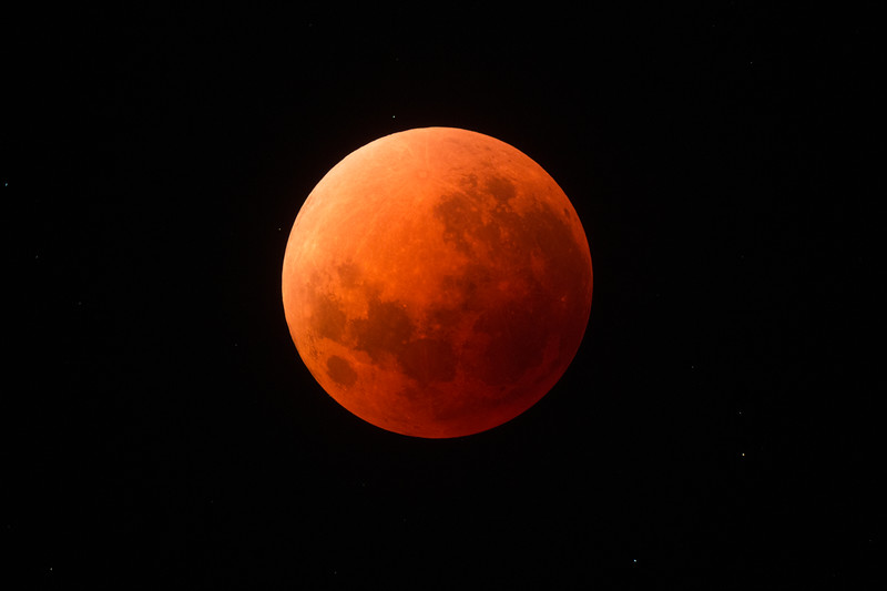 Super Blue Blood Moon - Umbral (full eclipse) - 31/1/2018
