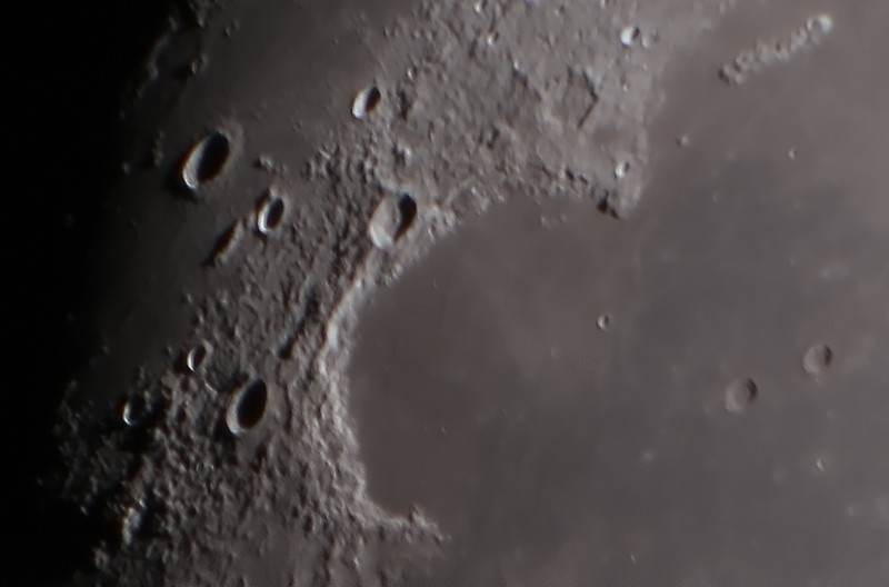 Moon - Sinus Iridum - 11/4/14 (Processed cropped stack)