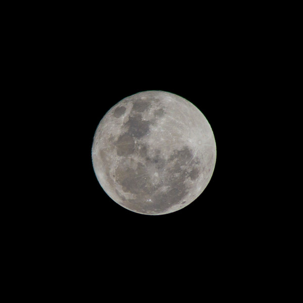 Supermoon - 16/10/2016 (Processed, cropped single image)