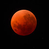 Super Blue Blood Moon - Centre of Umbral phase (full eclipse) - 31/1/2018