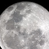 Moon - Waning Gibbous - 26/4/2013 (Processed stack)