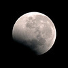 Lunar Eclipse - Emerging from Umbra - 16/06/2011, 5:54:56 AM (Processed cropped image)