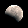 Lunar Eclipse - Emerging from Umbra - 16/06/2011, 5:46:44 AM (Processed cropped image)