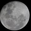 Waning Gibbous Moon - 21/10/2013 (Processed image)