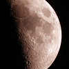 First Quarter Moon - 25/08/2020 (Processed Mosaic)