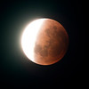 Super Blue Blood Moon - Umbral shadow ingressing - 31/1/2018