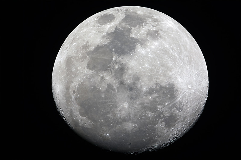 Waning Gibbous Moon - 23/02/2013 (Re-processed video stack)