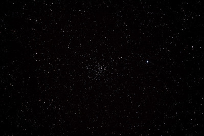 Caldwell 58 - NGC2360 - Caroline's Cluster Open Cluster in Canis Major - 3/2/2013 (Processed stack)