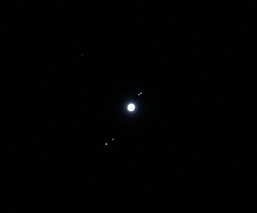 Jupiter and Galilean Moons 01/10/2010 (Processed)