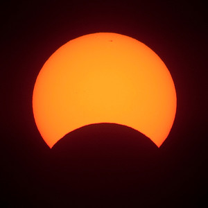 Solar Eclipse May 2013 - 10/05/2013 7:18AM AWST